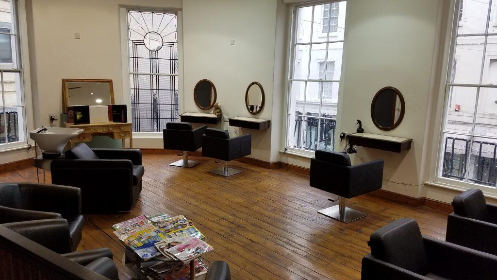 Chameleons Hairdressing Salon Cheltenham First Floor