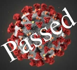 coronavirus safety passed